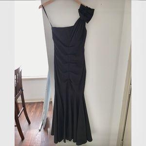 Caché One Shoulder Dress